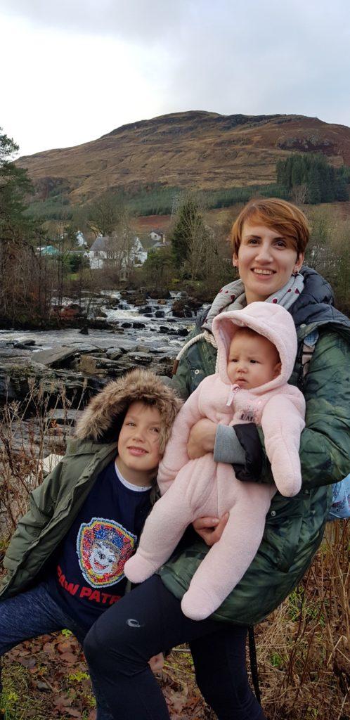 Joanna Wasilewska-Kogut z dziećmi