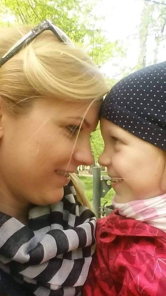 Monika Marczak z córką