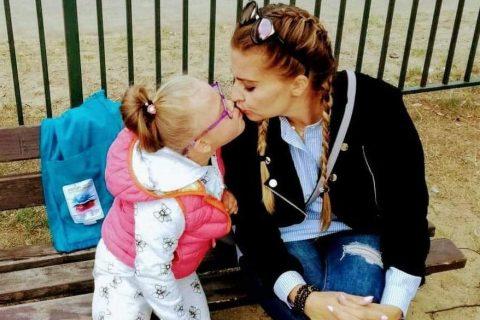 Magdalena Chajdziony z córką