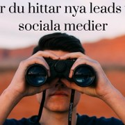Leads via sociala medier