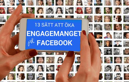 Facebook engagemang