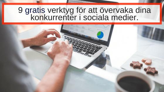 Gratis verktyg sociala medier