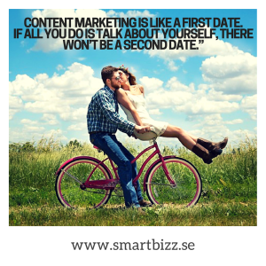 content marketing date