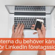 LinkedIn företagssida nyheter