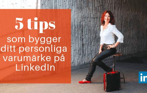 personligt varumärke LinkedIn
