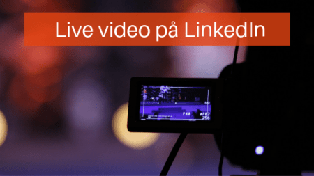 live video LinkedIn
