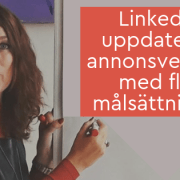 LinkedIn uppdaterar annonsverktyg