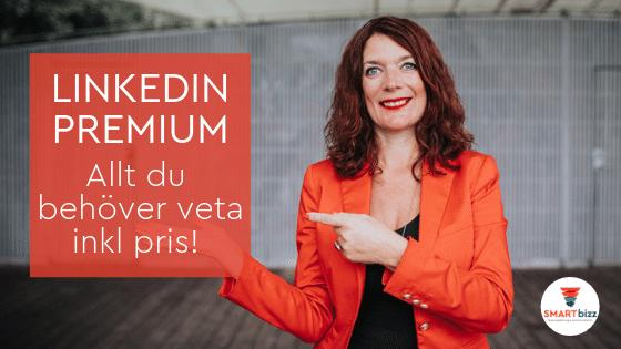 LinkedIn premium pris