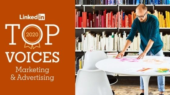 top voices linkedin marketing