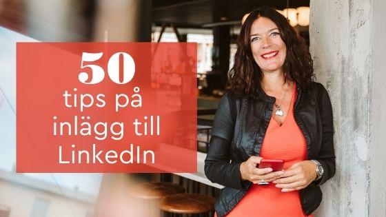 tips inlägg LinkedIn