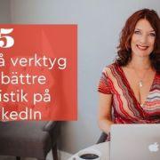 verktyg statistik LinkedIn