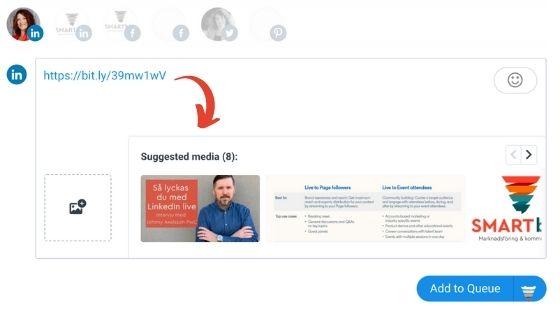 fel bild LinkedIn Buffer