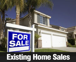 Existing Home Sales Numbers Released