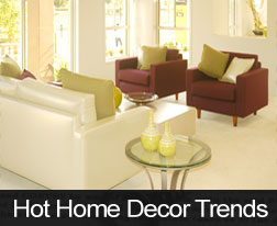 Hot Home Decor Trends 2013