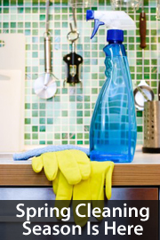 Spring Cleaning Tips For April 2013