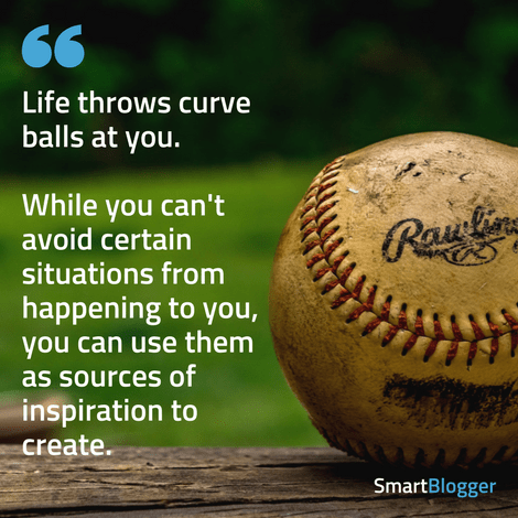 life throws curve balls