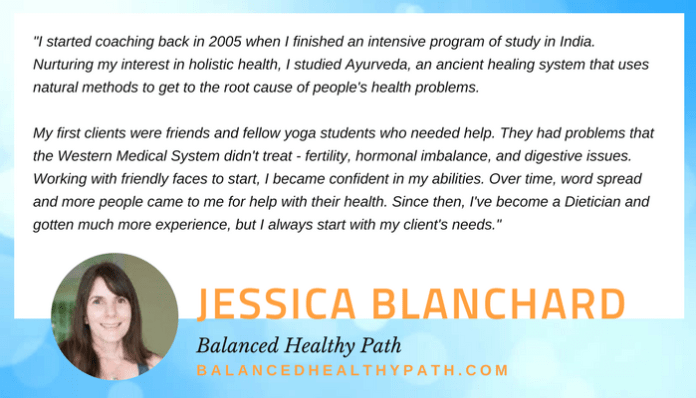 Jessica Blanchard quote