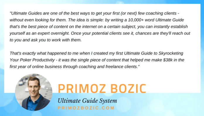 Primoz Bozic quote