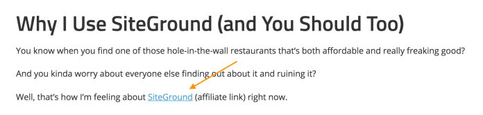 SiteGround affiliate link