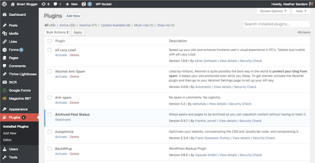 SmartBlogger plugins