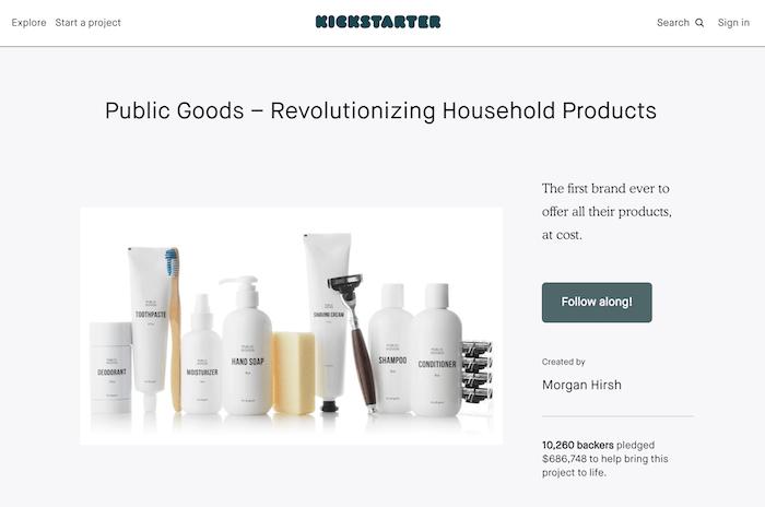 Campagna Kickstarter