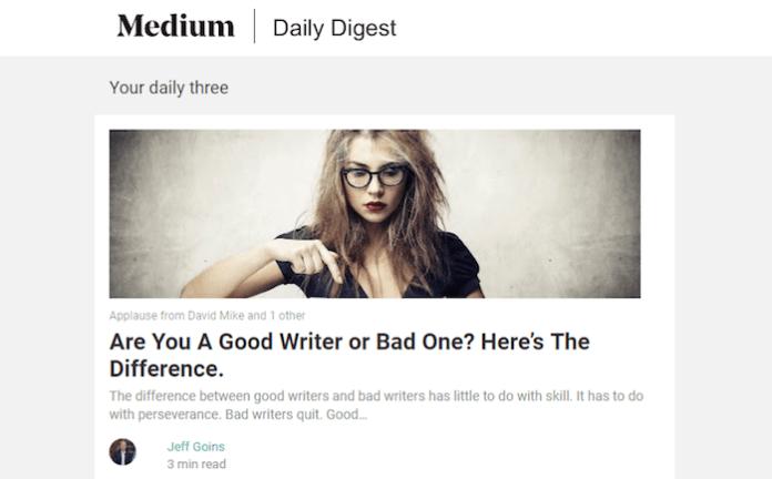 Medium's Daily Digest