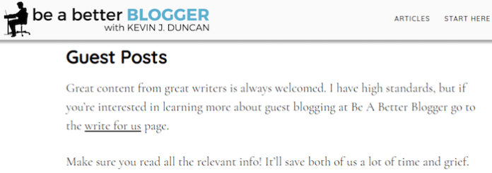 Guest Blogging - Best platform for building authority