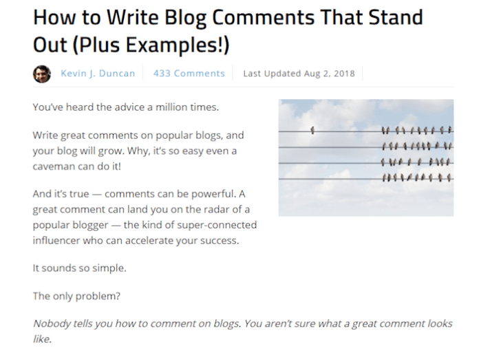 Gain opportunities from guest blogging.