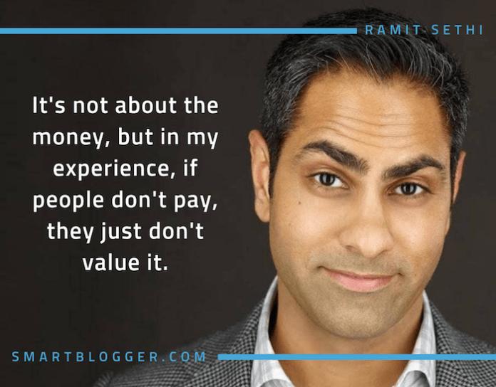 Ramit Sethi quote