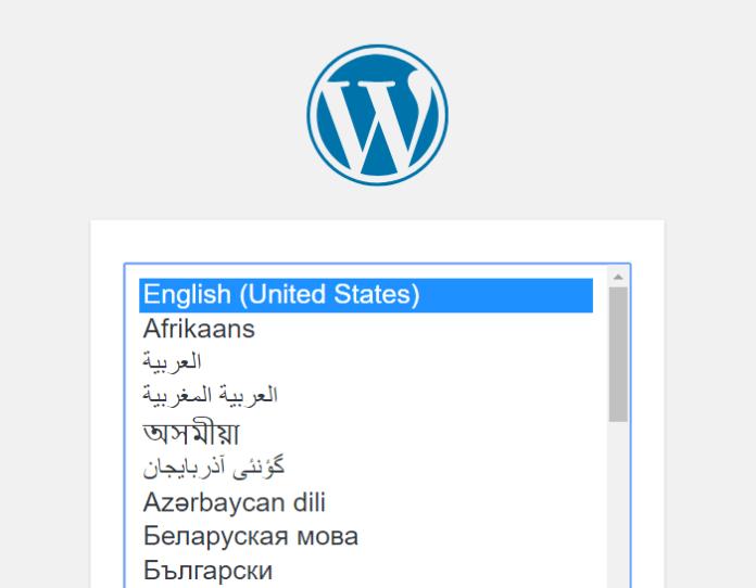 Choose your WordPress language