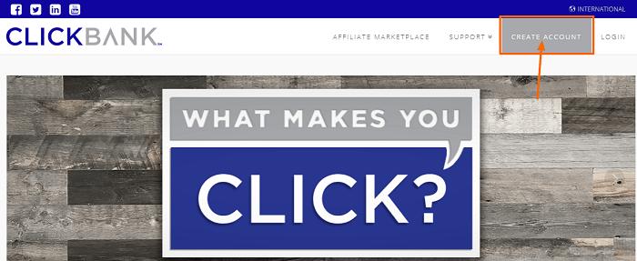 Menu ClickBank