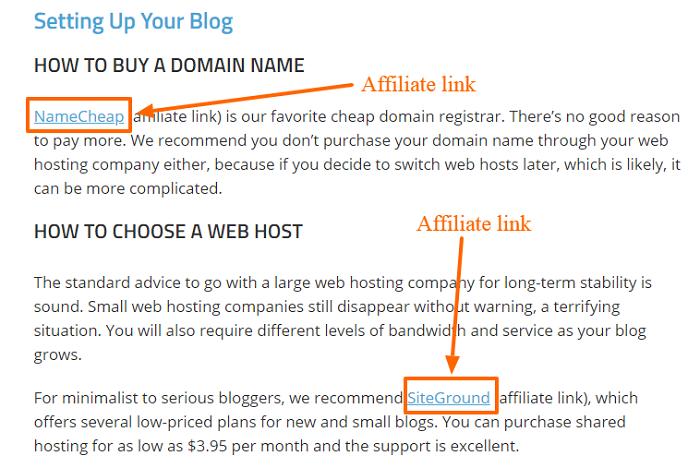Link affiliati a Smart Blogger