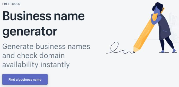 blog name generator shopify business name generator