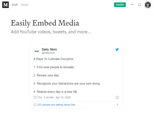 medium partner program medium emded tweet