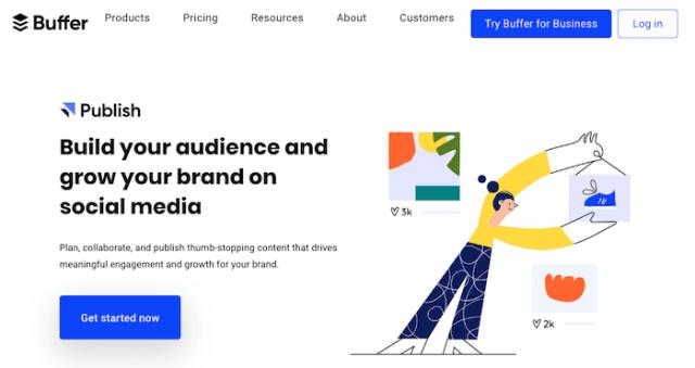 content marketing tools buffer