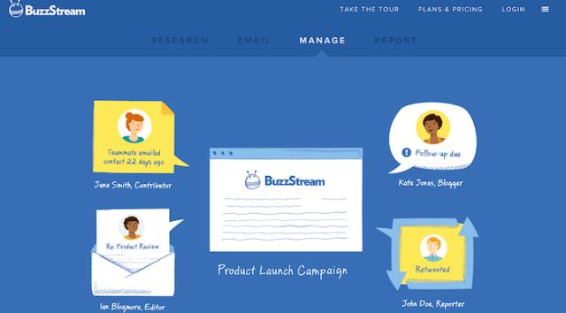 content marketing tools buzzstream