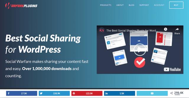 content marketing tools social warfare
