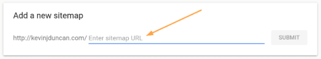 Add sitemap to Google Search Console 2