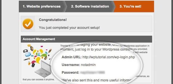 SiteGround WordPress Installation Final Setup