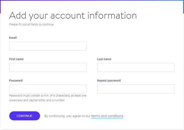 Kinsta WordPress Hosting - Account Information