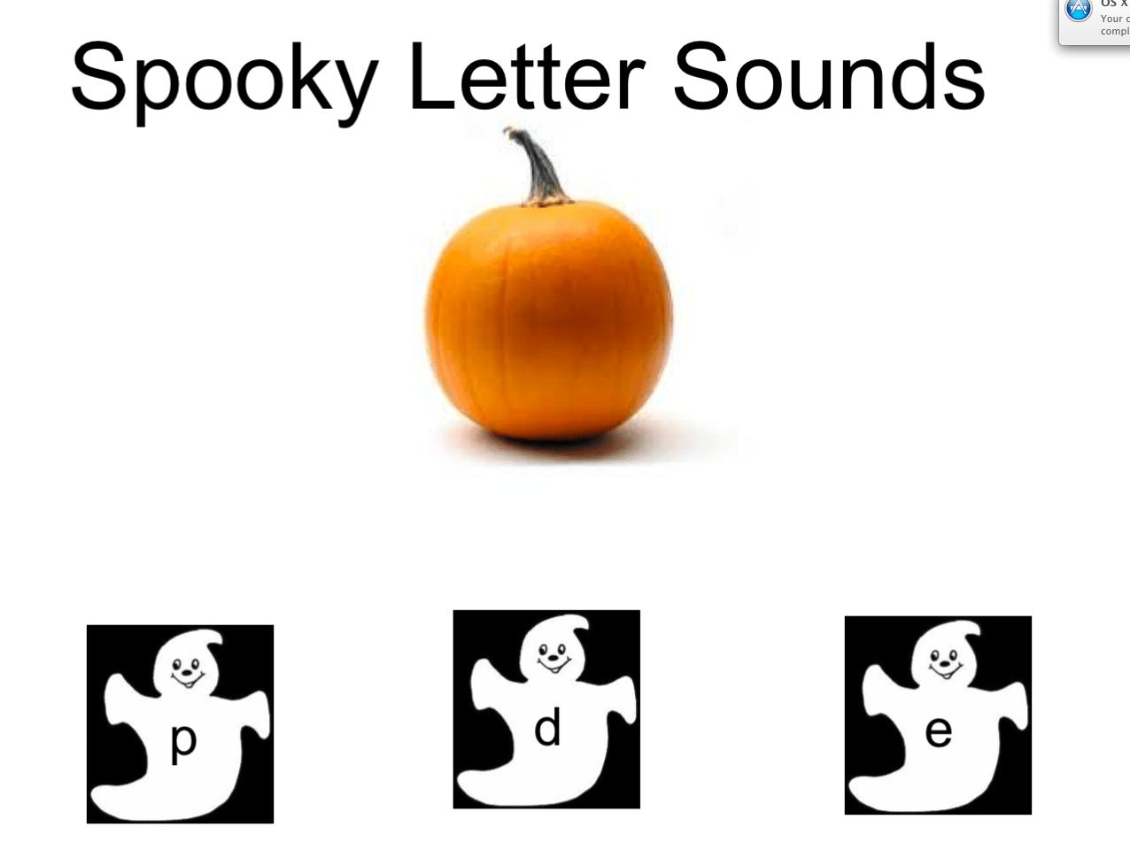 Spooky Halloween Sounds Smart Notebook Smart Board Ideas