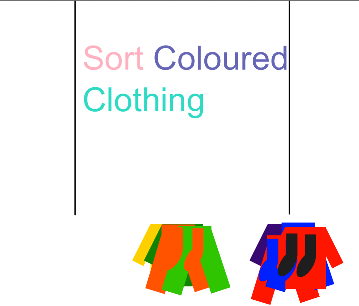 Sorting Coloured Clothing Smart Notebook Smart Board Ideas
