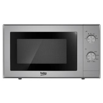 cuptor cu microunde argintiu gri bun