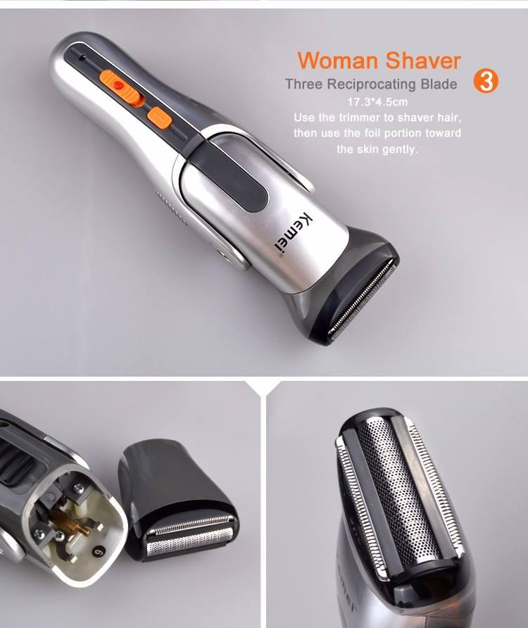 Σετ Κουρευτικής και Ξυριστικής Μηχανής για Μαλλιά και Γένια 8 σε 1 ... 9a6f6e3338c