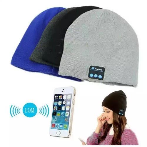 Σκούφος Bluetooth V4.1 με Ενσωματωμένα Ακουστικά και Μικρόφωνο Bluetooth Smart Music Hat