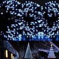 Χριστουγεννιάτικα Λαμπάκια 200 LED Εσωτερικού / Εξωτερικού Χώρου με Ηλιακό Πάνελ Solar Τwist Lights