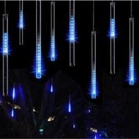 Χριστουγεννιάτικη LED Βροχή Μετεωριτών 8 Τέμαχια 50cm Μπλέ