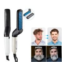 Κεραμική Ισιωτική για Μαλλιά και Μούσια Man Modelling Comb