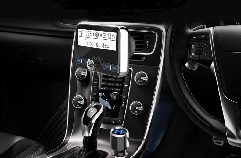 Ασύρματο Bluetooth Handsfree MP3 Player Aυτοκινήτου με Οθόνη 2.4 ίντσες LCD USB 5V 2.4A BC31