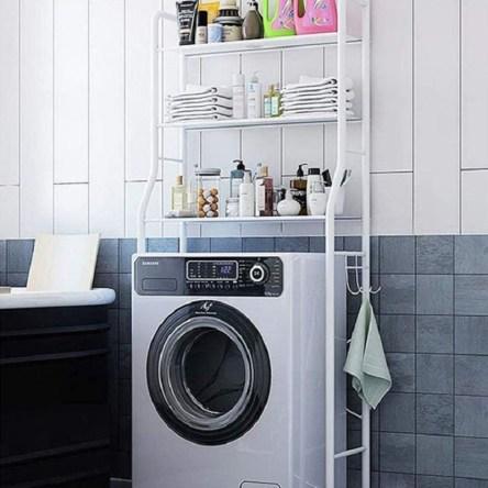 Ραφιέρα Εξοικονόμησης Χώρου 3 Eπιπέδων για Πλυντήριο TM-0091